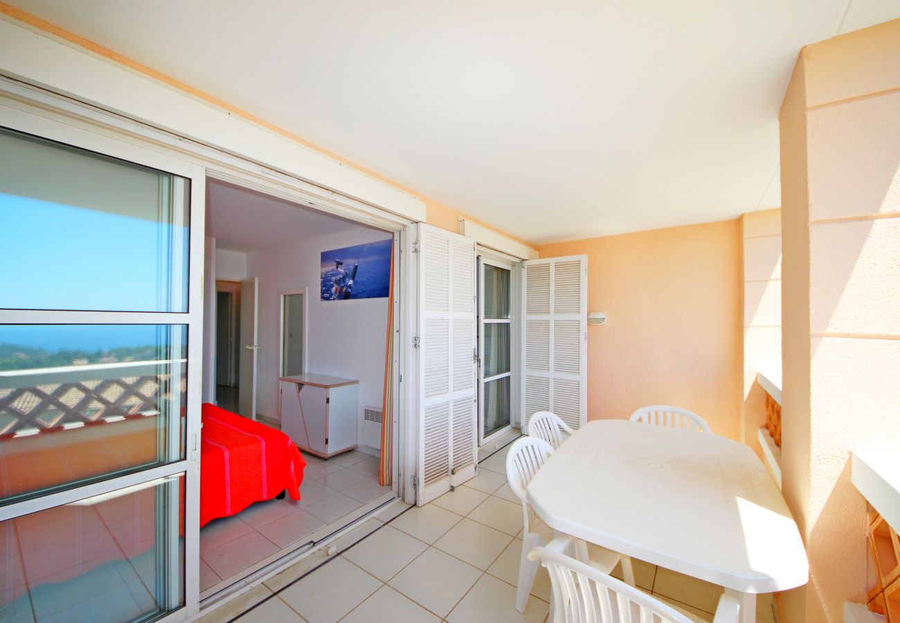 Ferienwohnung in Agay - Cap Esterel les Bastides T4 jardin calme I2 - ref. 197la