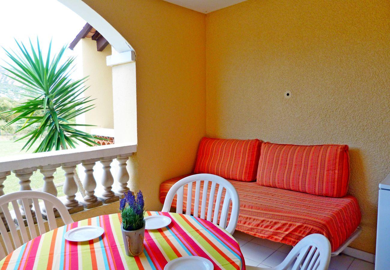 Studio in Agay - Cap Esterel Belvedere V1 - Studio with golf view  - 79la