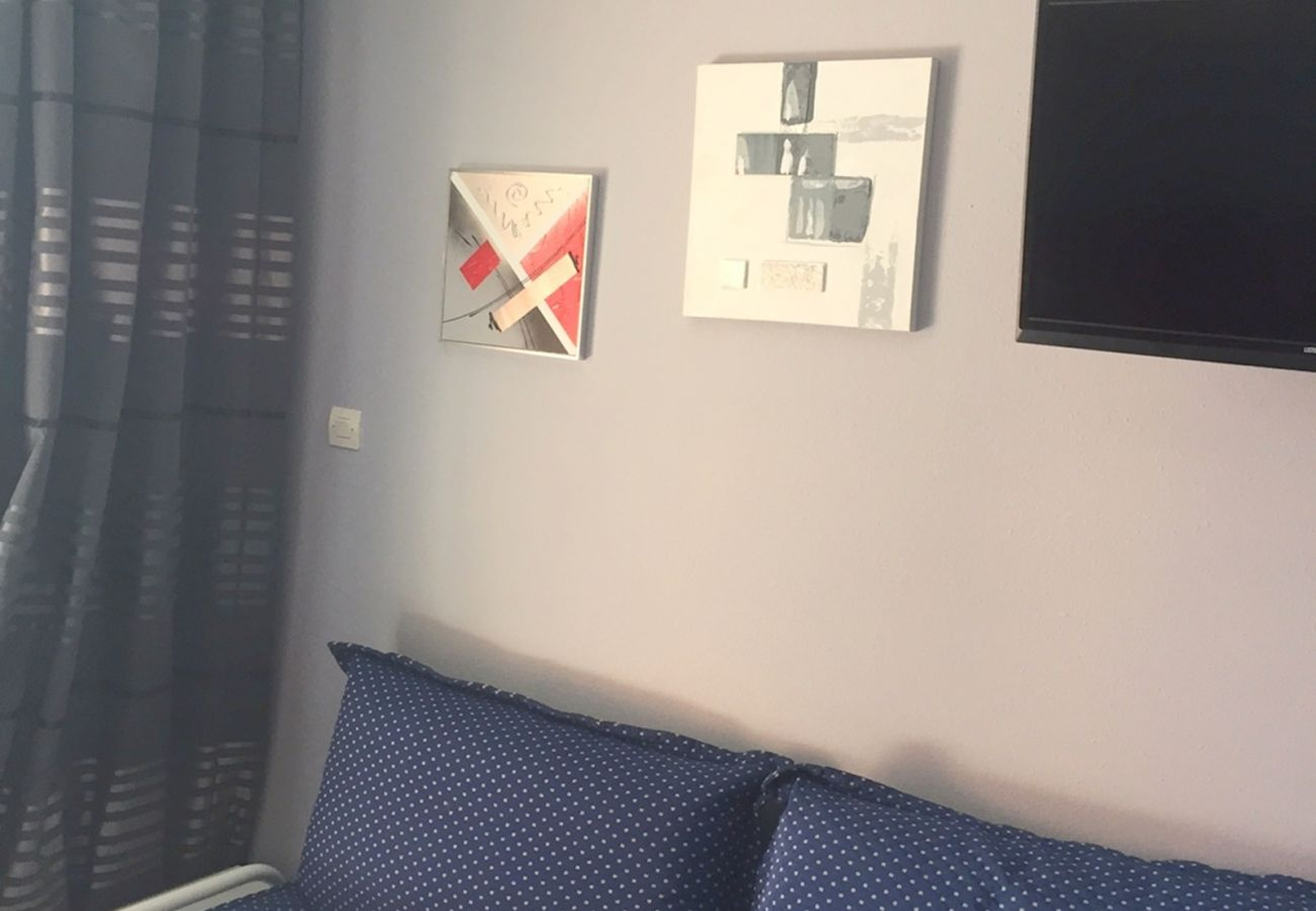 Studio in Agay - Cap Esterel Hameau : Studio vue mer, lave linge K1 - 166la
