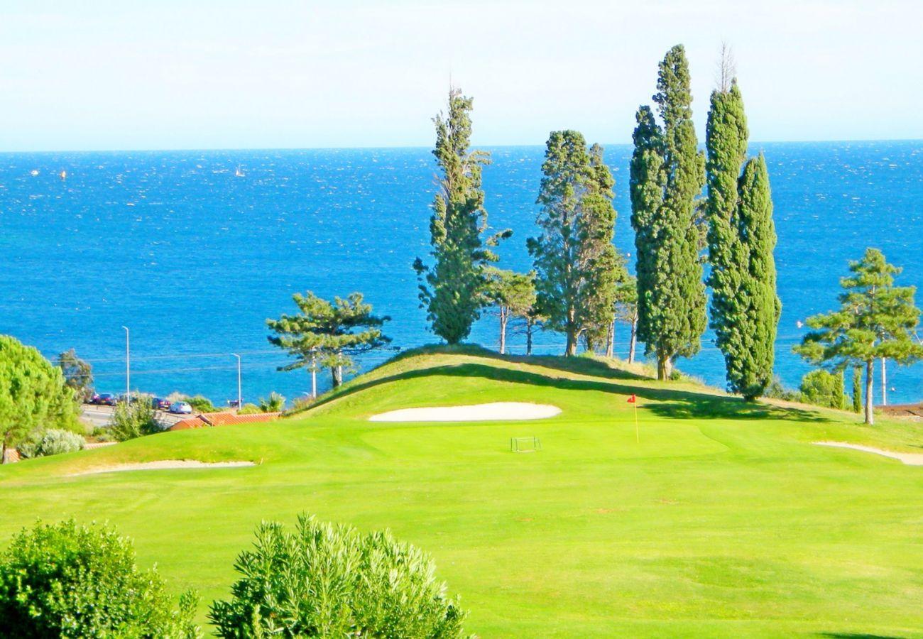Studio a Agay - Cap Esterel Belvedere V1 - Studio with golf view  - 79la