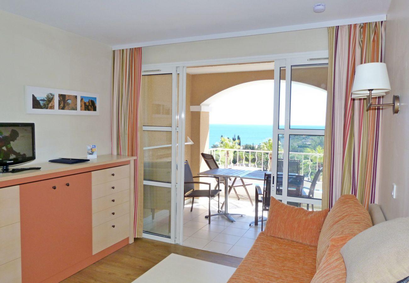Appartamento a Agay - CAP ESTEREL VILLAGE : 2 pièces mer rénové 2è étage E1-275la