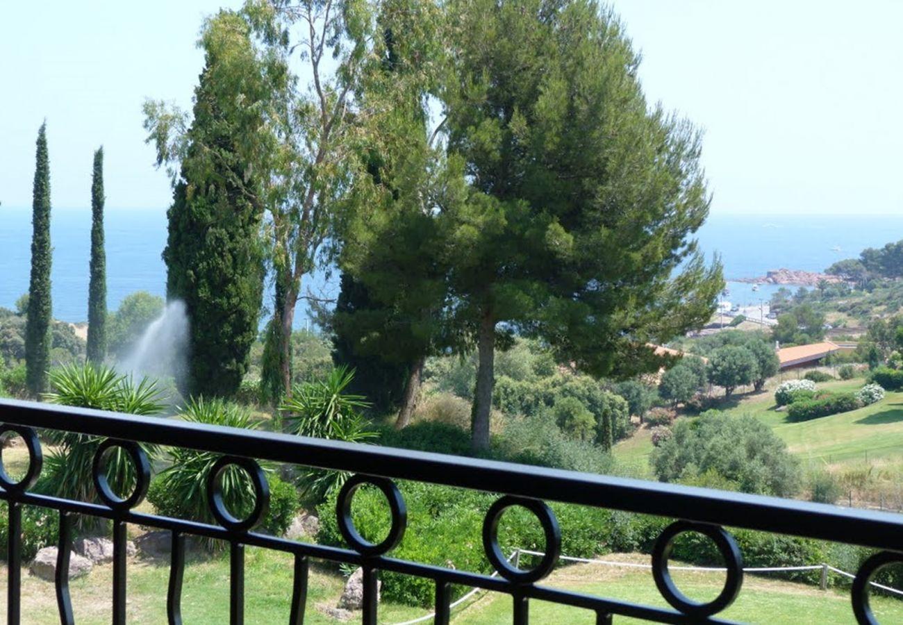 Appartamento a Agay - Cap Esterel Village : 3 pièces duplex vue mer, terrasse d'angle VJ- 64la