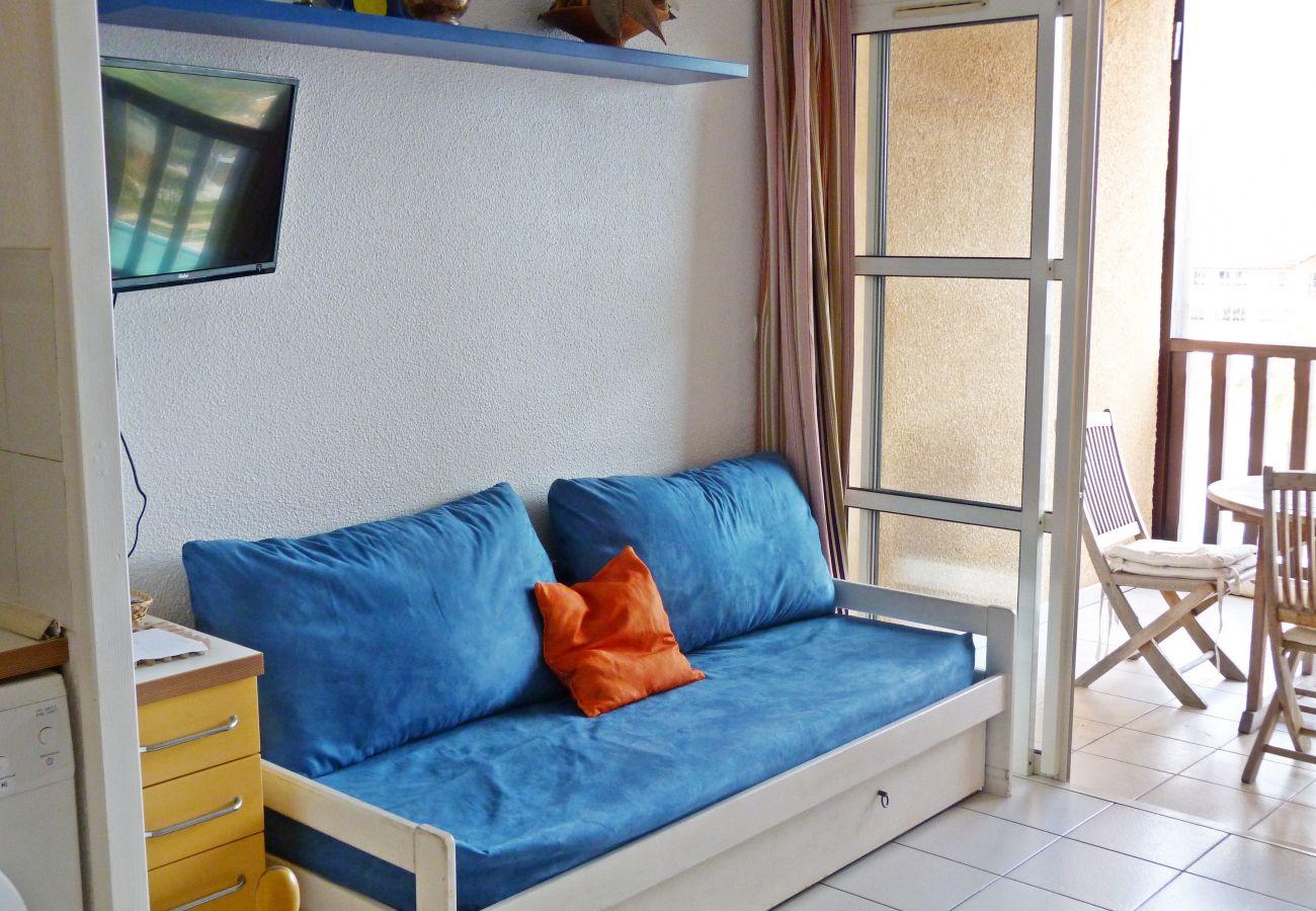 Le séjour de l'appartement de Cap Esterel à Agay