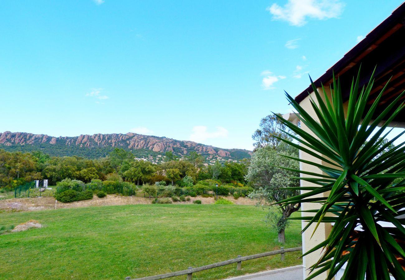 Studio à Agay - Cap Esterel Belvédère V1 - Studio vue golf - 79la
