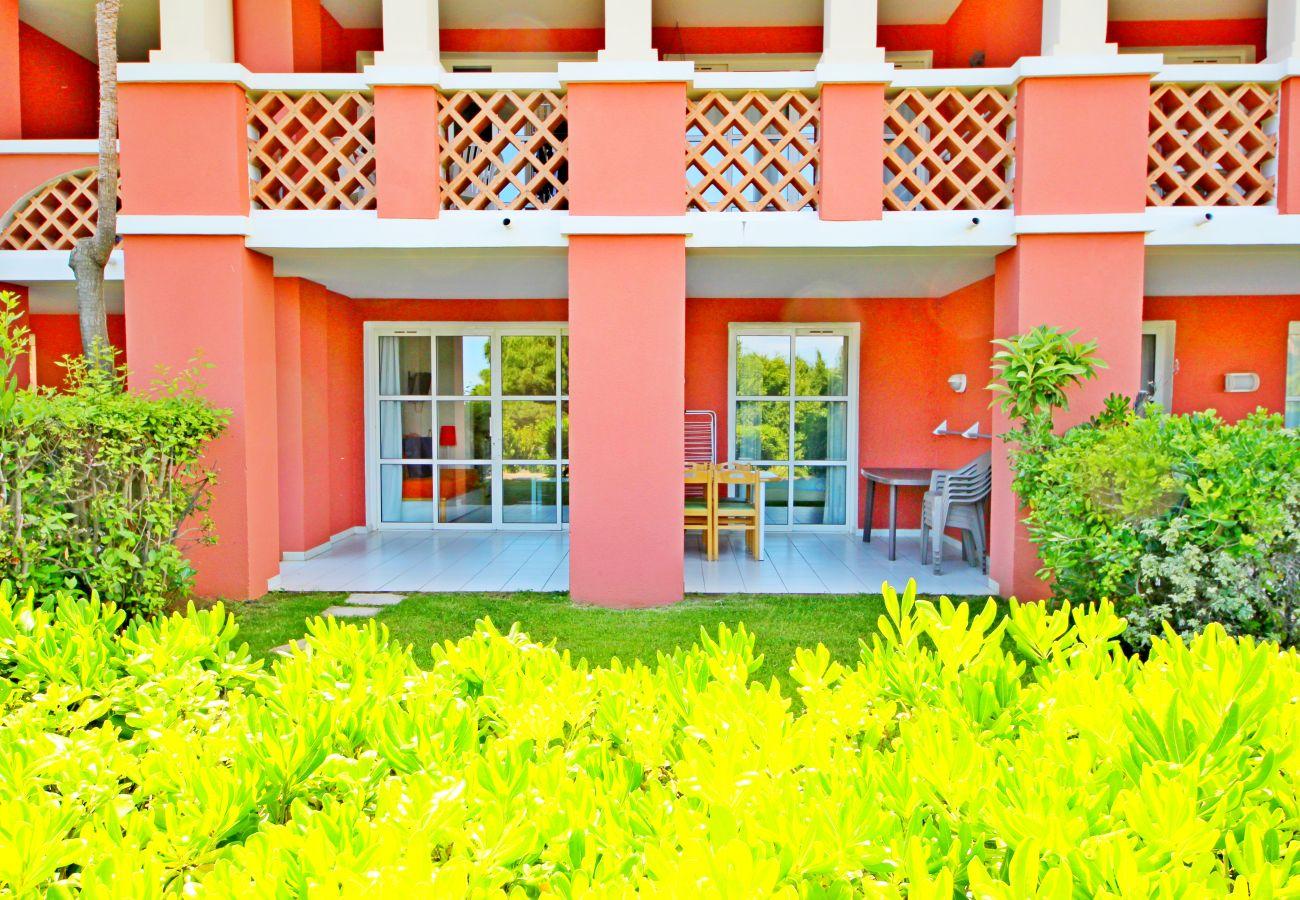 L'extérieur de l'appartement de Cap Esterel à Agay