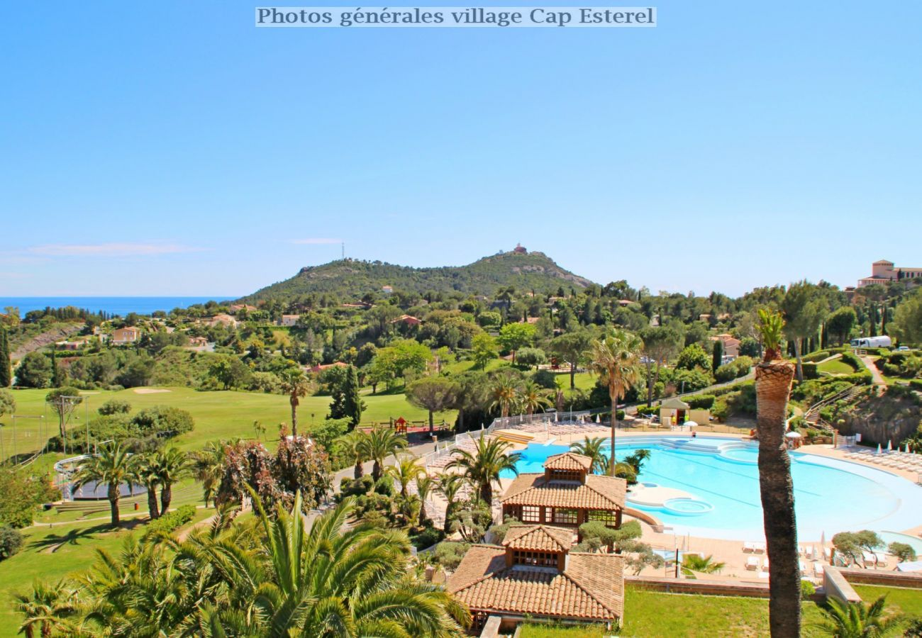 Appartement à Agay - Cap Esterel village G1 - T2 large jardin - 55la
