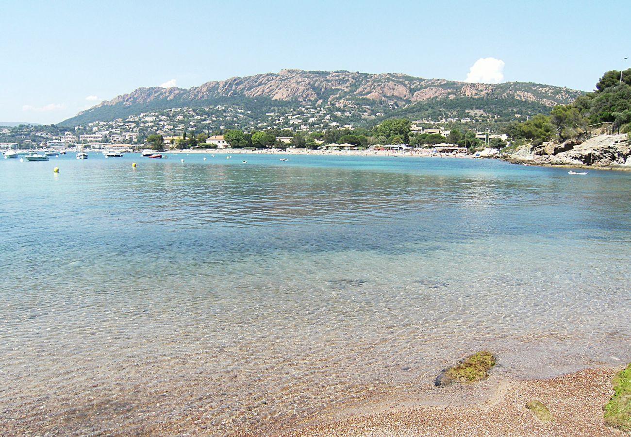 Appartement à Agay - Rivages du Lac Agay :  T3 jardin piscine calme - 60la
