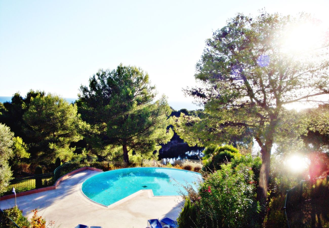 Appartement à Agay - Rivage du Lac Agay :  T3 jardin piscine calme - 60la