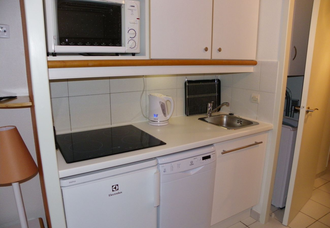 La cuisine du studio de Cap Esterel à Agay