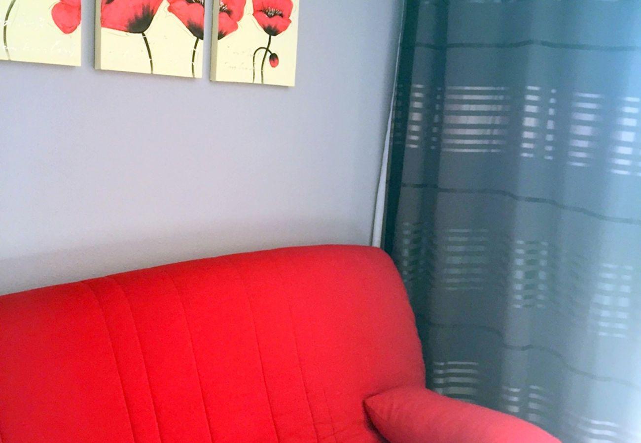 Le séjour du studio de Cap Esterel à Agay
