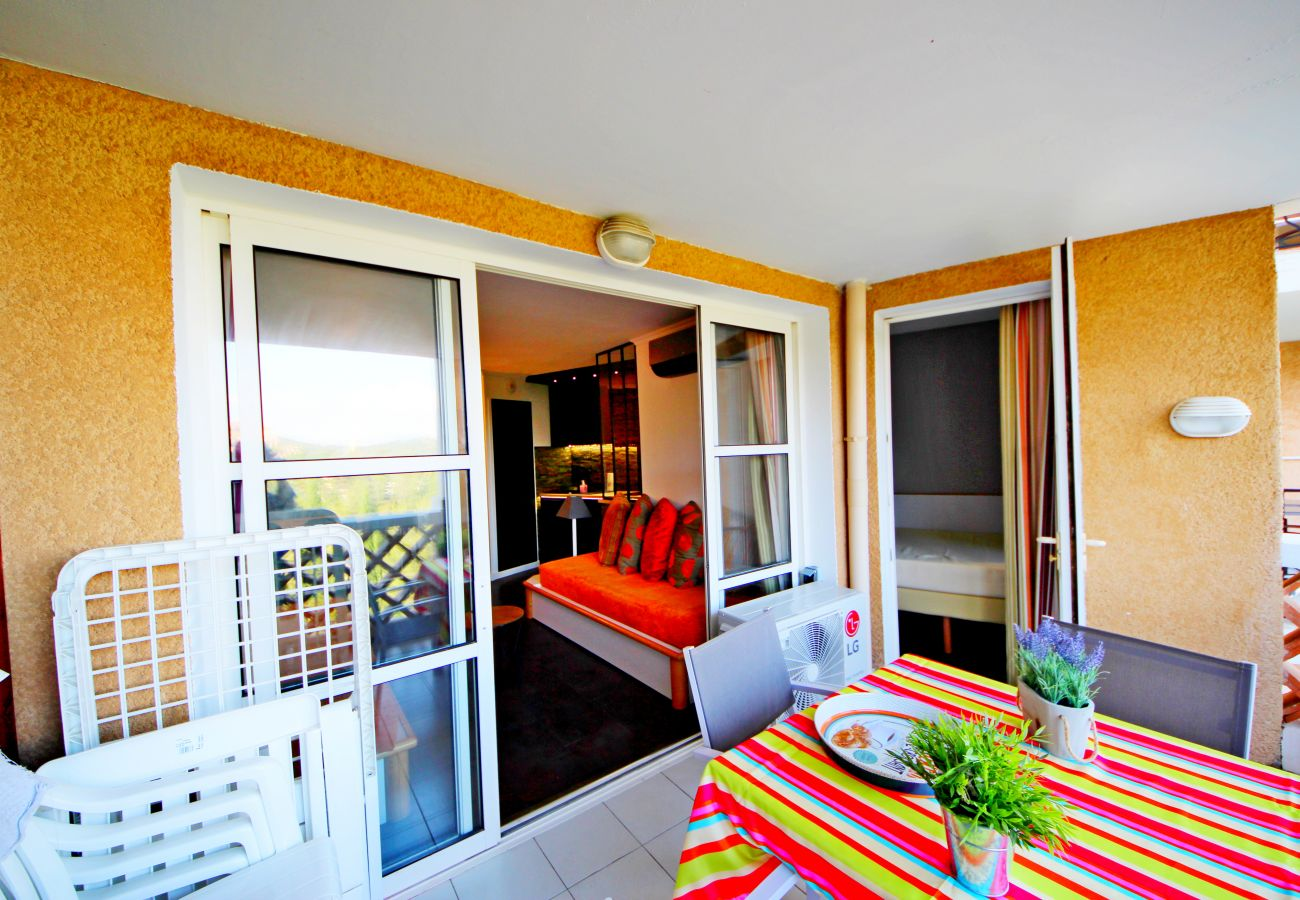 La terrasse de l'appartement de Cap Esterel à Agay
