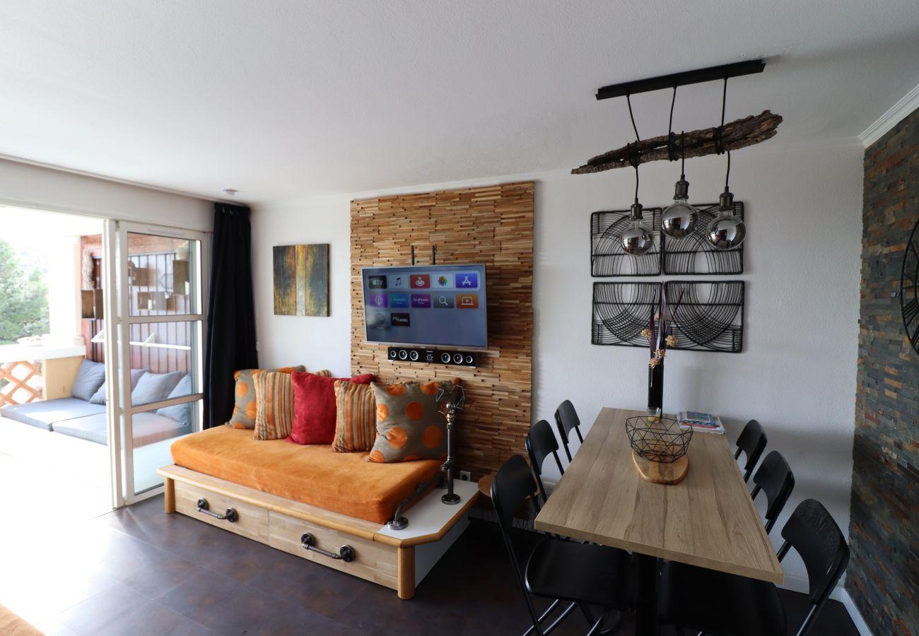 Appartement à Agay - CAP ESTEREL village vacances T2 large terrasse J4- 254la