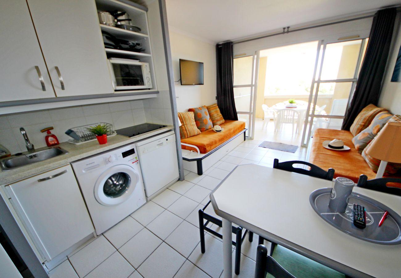 Appartement à Agay - Cap Esterel Village : 2 pièces mer J5- 201la