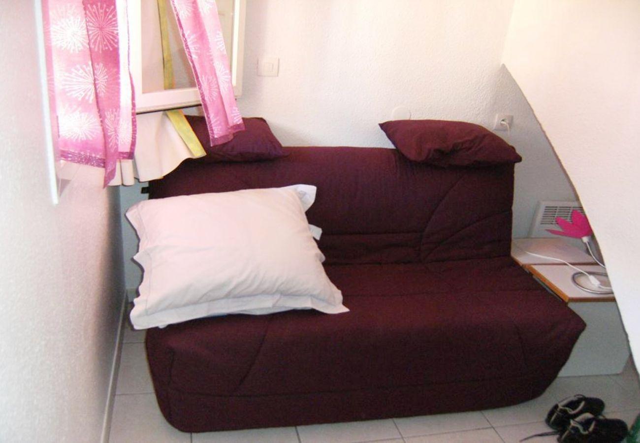 Appartement à Agay - Cap Esterel Village: 3 pièces duplex mer, lave linge C0- 90la
