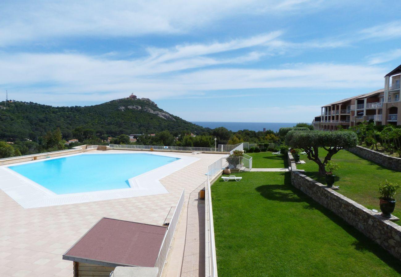 Appartement à Agay - Cap Esterel Village : 3 pièces jardin centre E1 - 207la