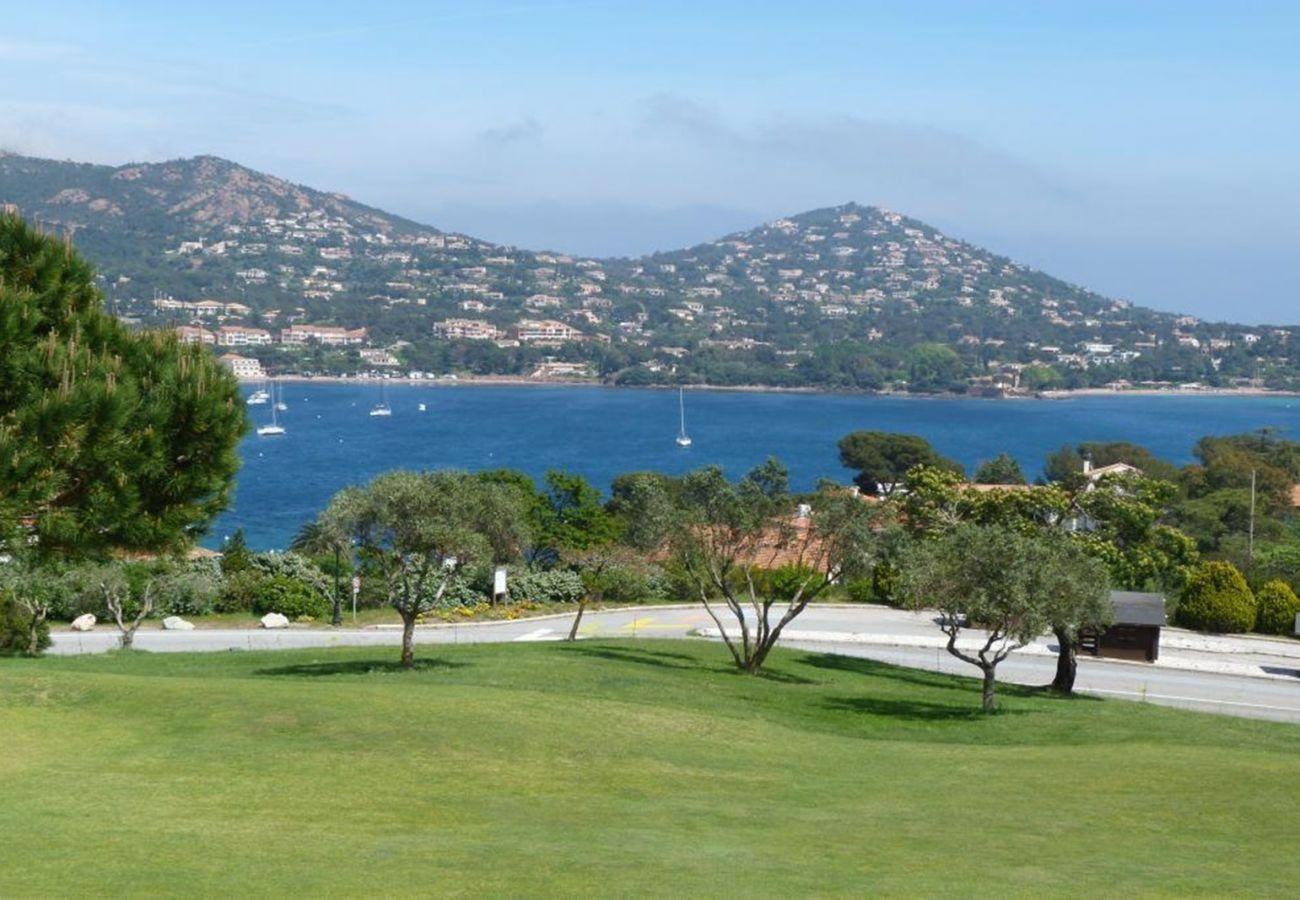 La vue depuis l'appartement de Cap Esterel à Agay