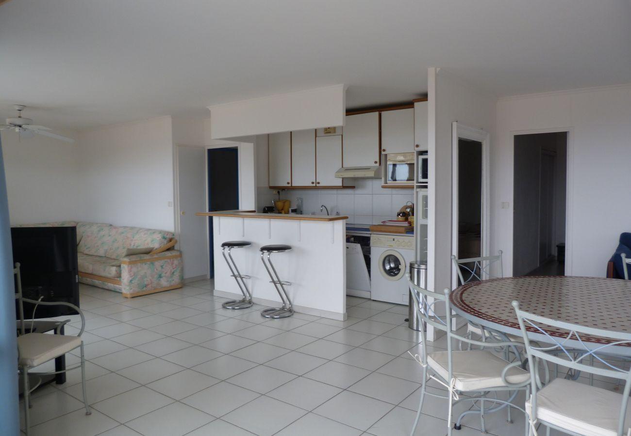La cuisine de l'appartement de Cap Esterel à Agay