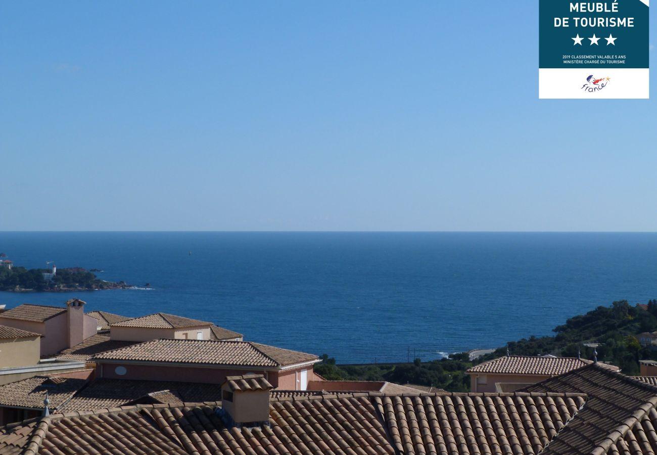 Appartement à Agay - Cap Esterel les Bastides : 4 pièces rez de jardin calme O5 - 144la