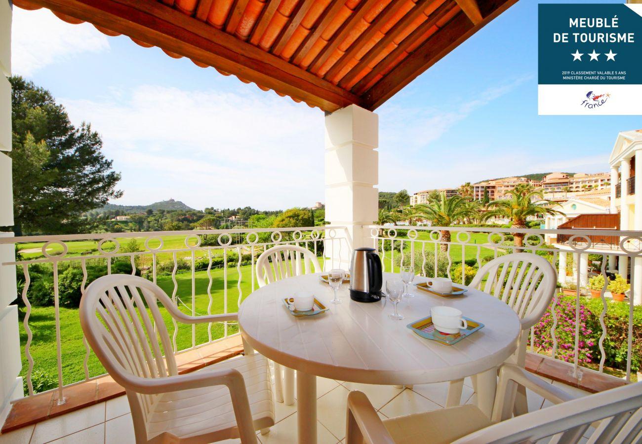 Appartement à Agay - Cap Esterel Village : beau 3 pièces central climatisé : Bat. VJ - 300la