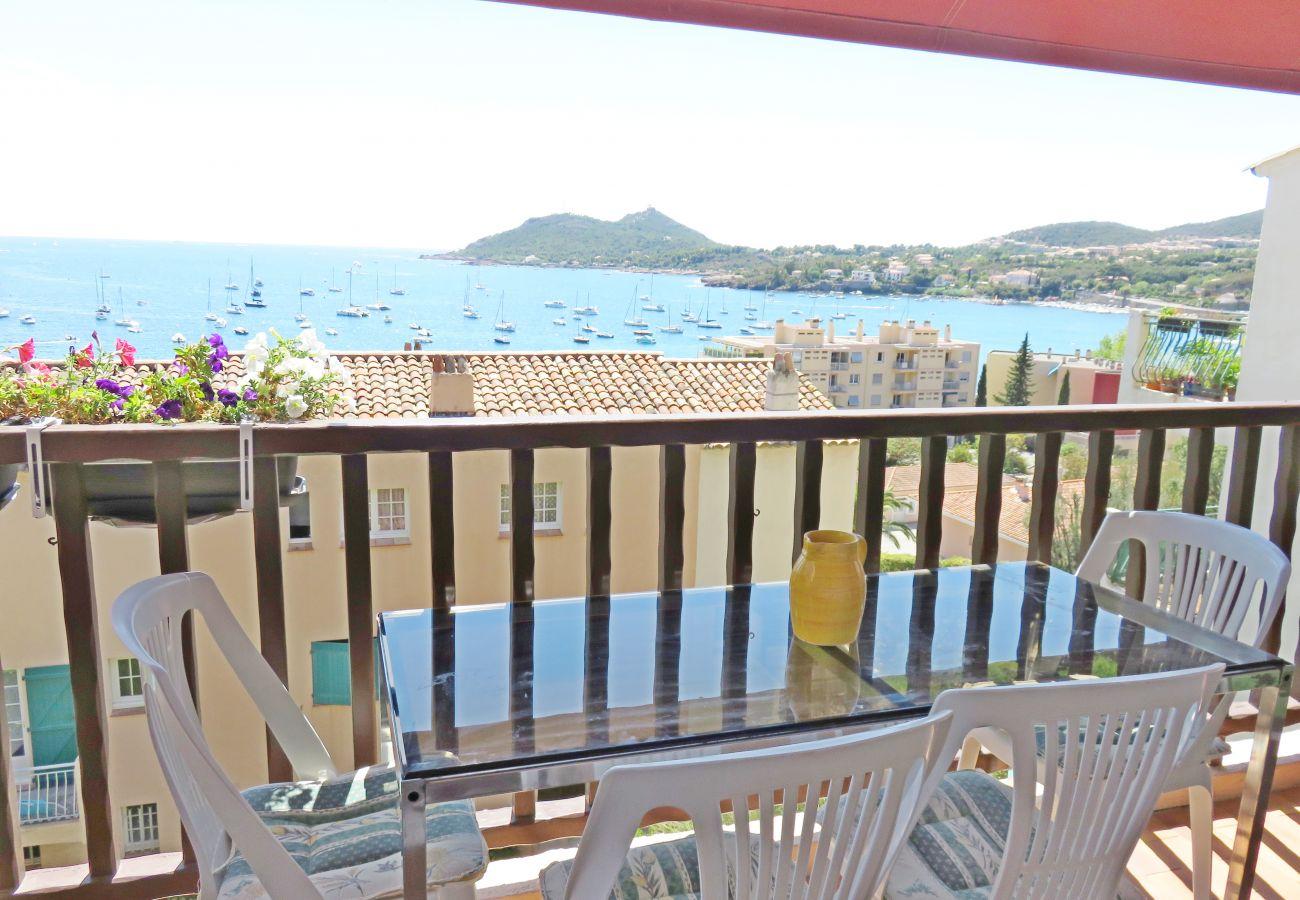 Appartement à Agay - Agay appartement deux pièces vue mer - 336la