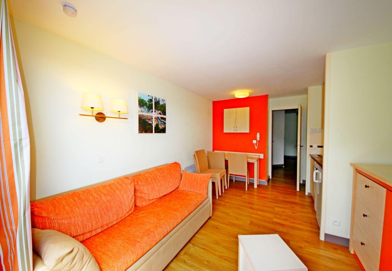 Appartement à Agay - Agay Cap Esterel village T2 mer étage 5 pers - J4 320la