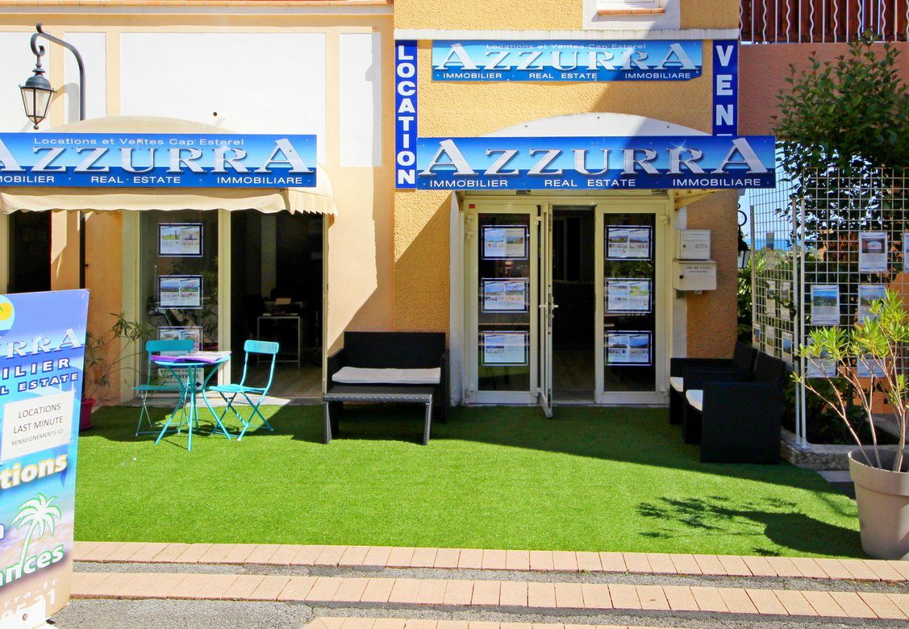 Appartement à Agay - Cap Esterel Village - 2 pièces vue mer renove - D4 - ref 401la