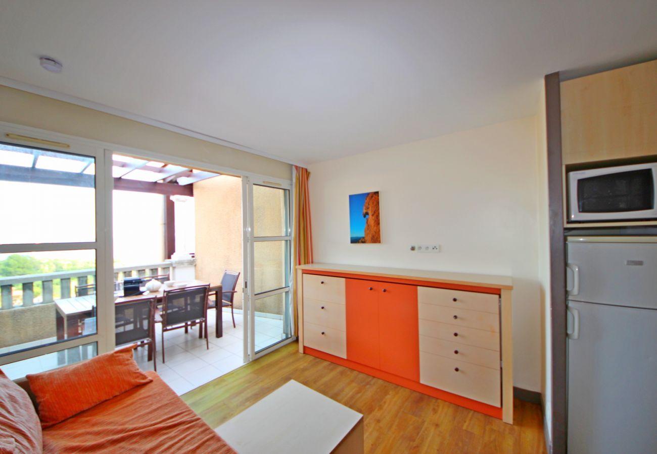 Appartement à Agay - Cap Esterel Village : 3 pièces rénové mer panoramique E1- 432la