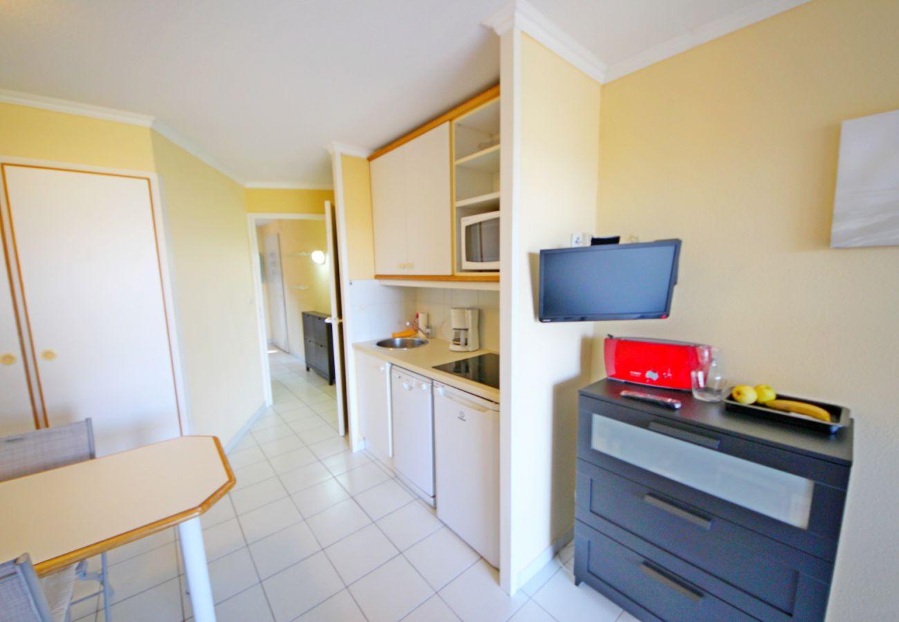 Appartement à Agay - CAP ESTEREL Studio avec aperçu mer HAMEAU K3 490la